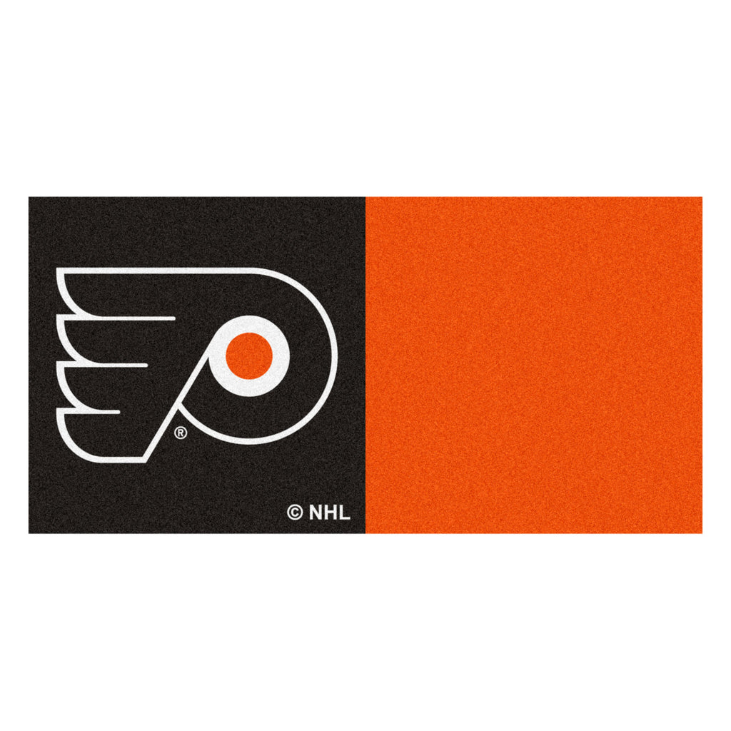 NHL - Philadelphia Flyers Team Carpet Tiles