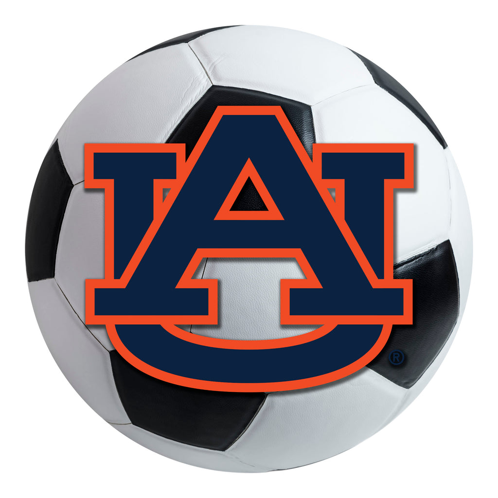 Auburn University Soccer Ball Mat