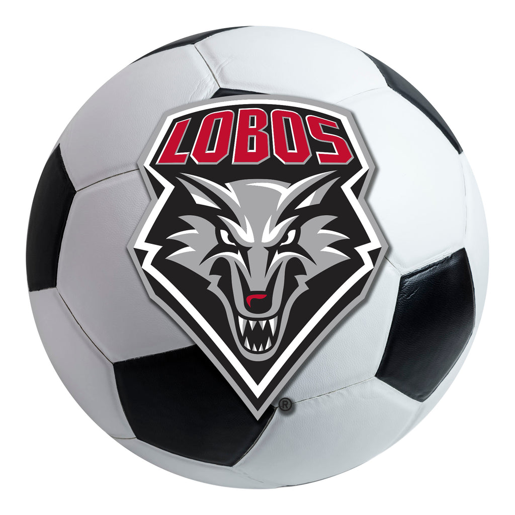 University of New Mexico Soccer Ball Mat