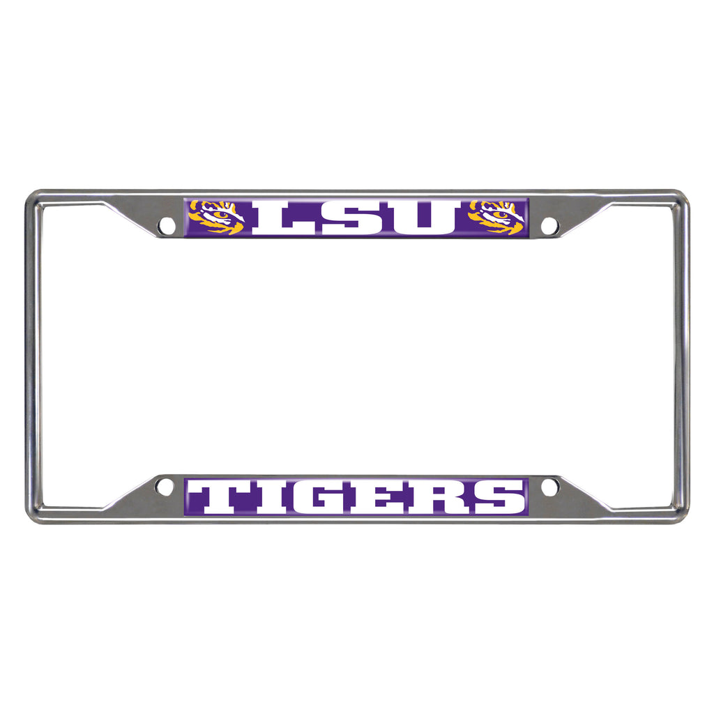 Louisiana State University License Plate Frame