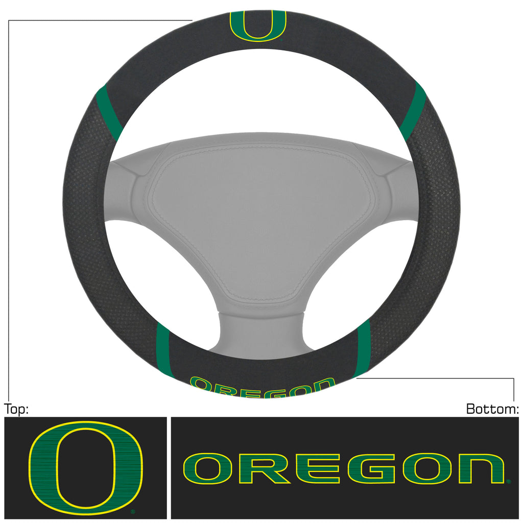 University of Oregon Steering Wheel Cover