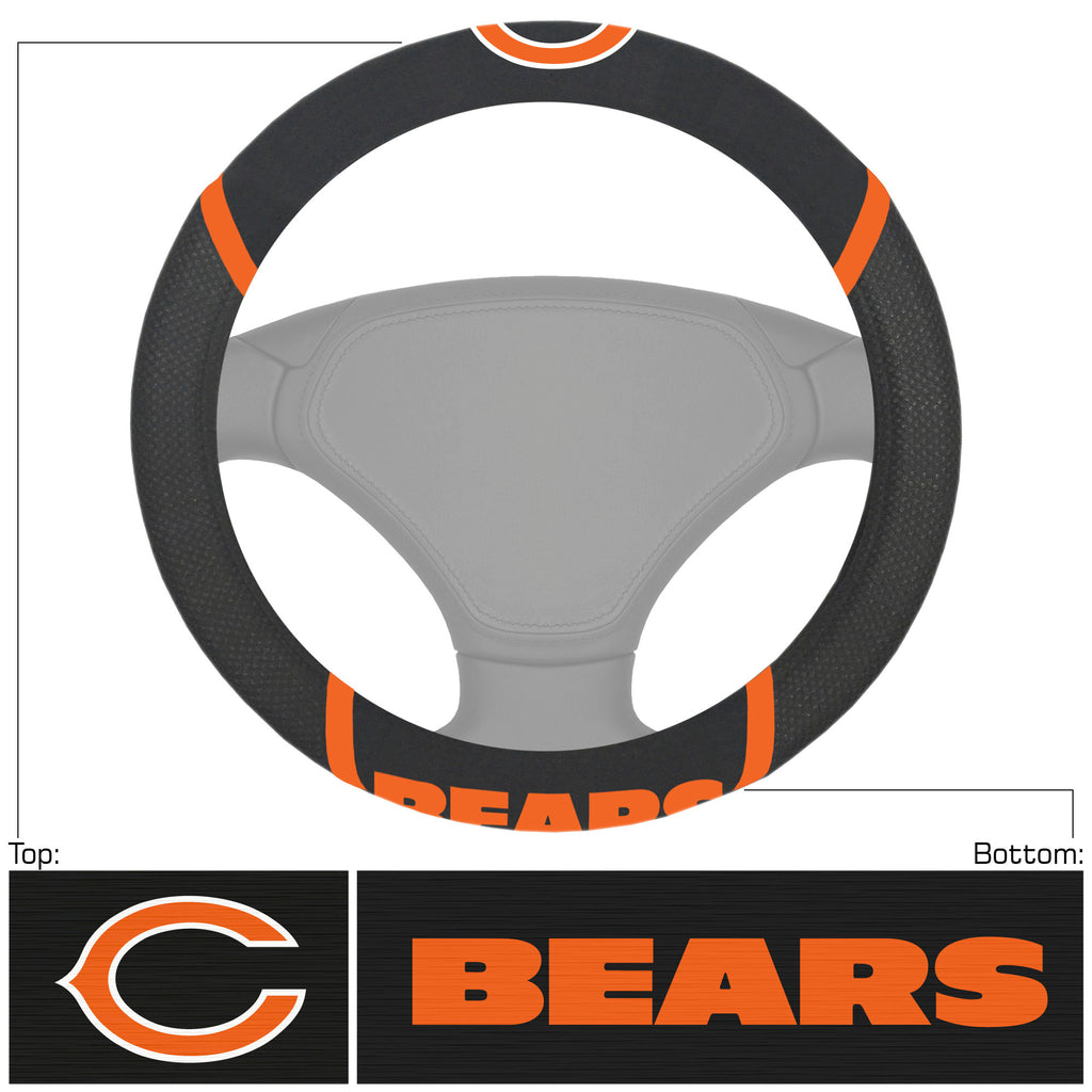 NFL - Chicago Bears  Steering Wheel Cover