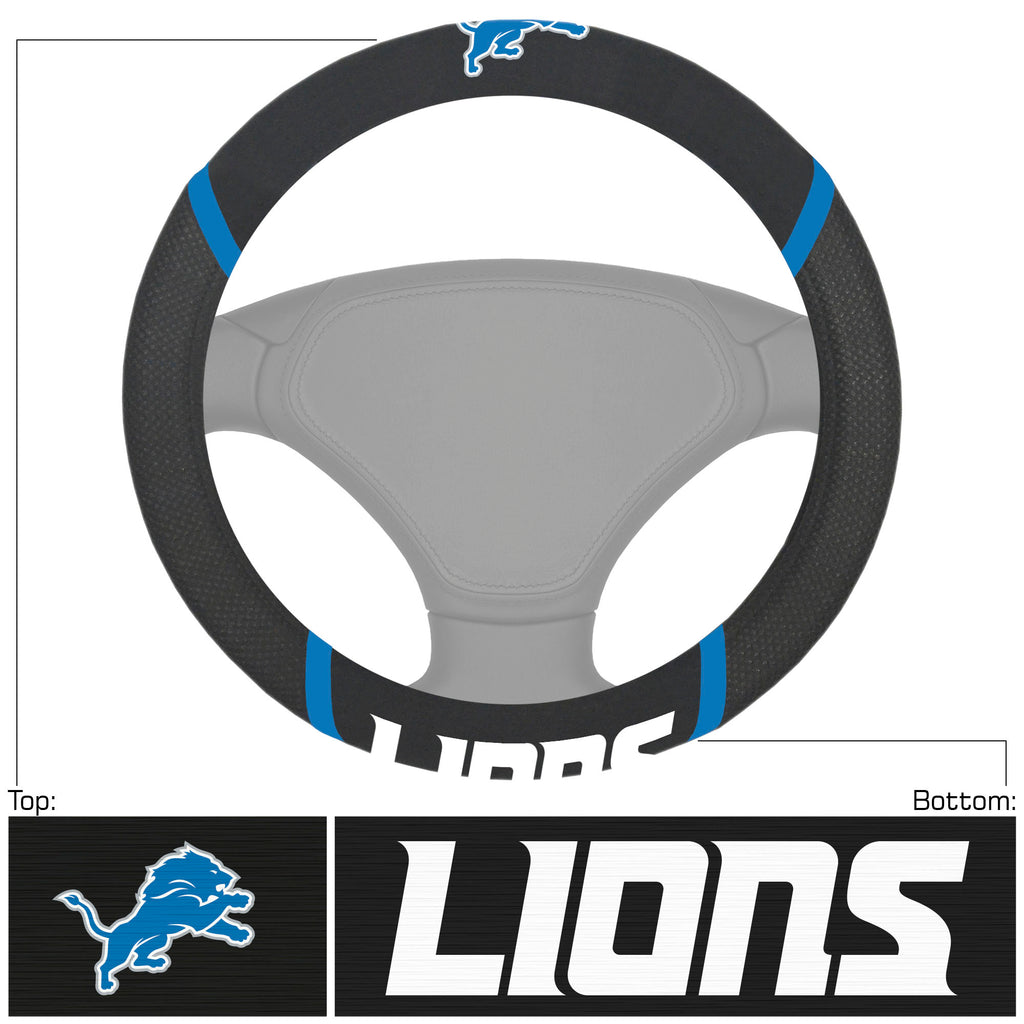 NFL - Detroit Lions  Steering Wheel Cover