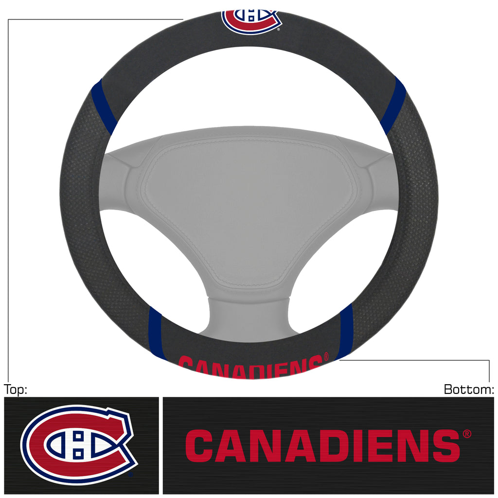 NHL - Montreal Canadiens Steering Wheel Cover