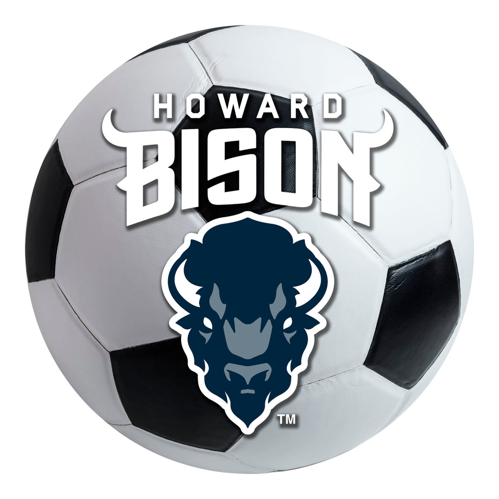 Howard University Soccer Ball Mat