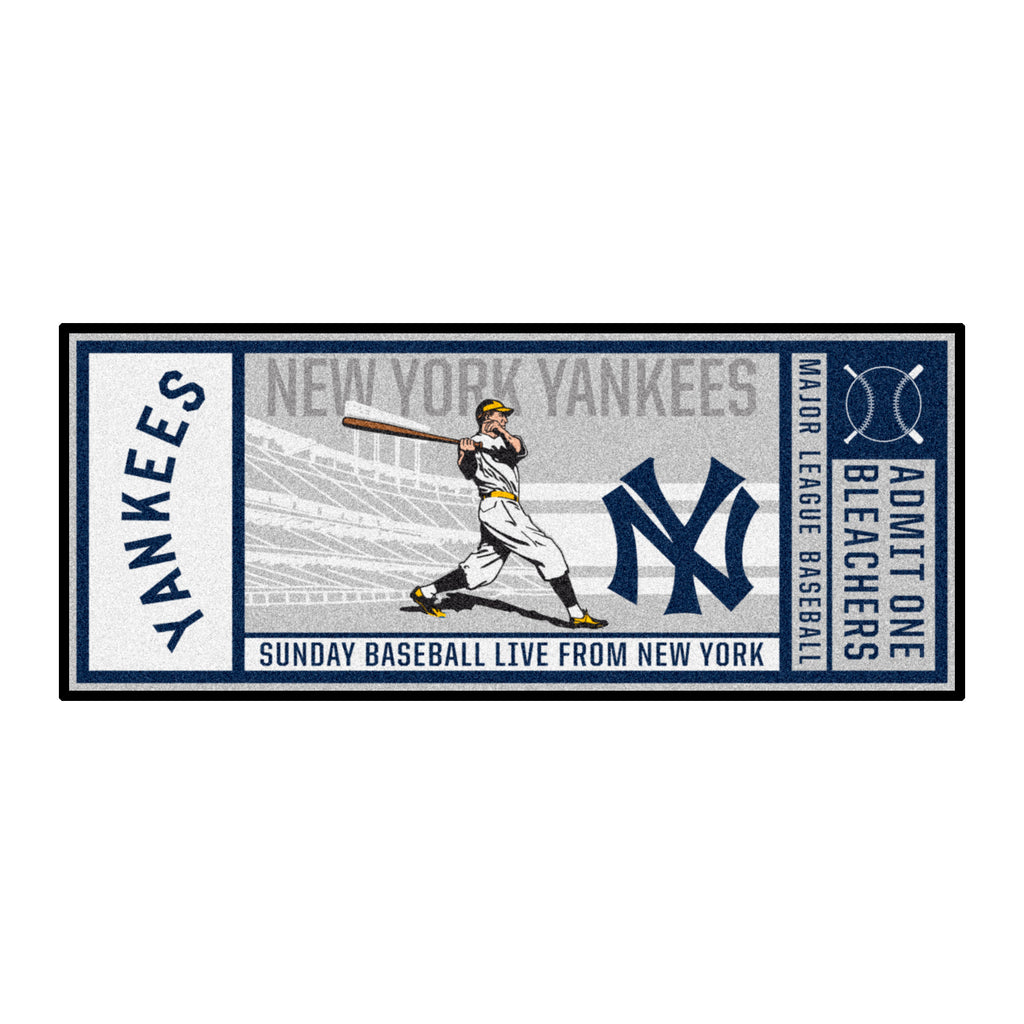 MLBCC - New York Yankees Ticket Runner