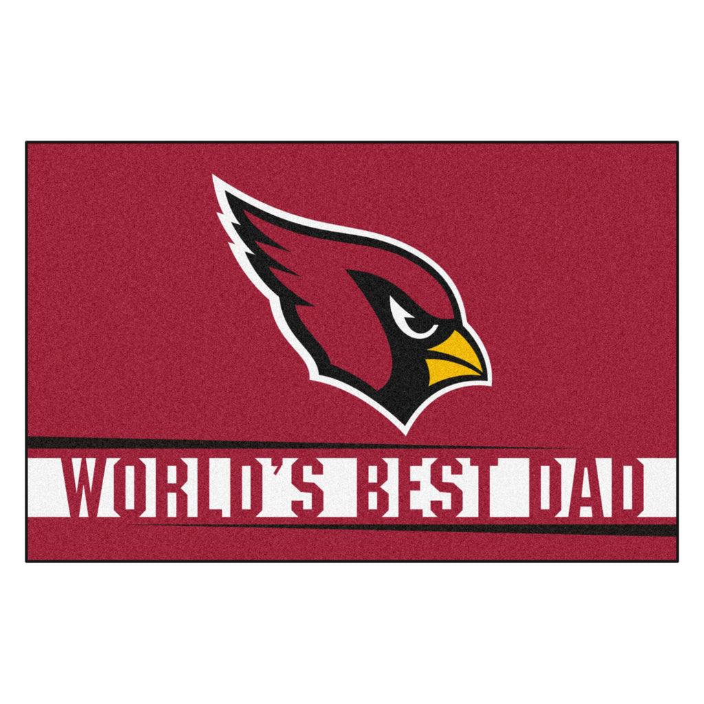 NFL - Arizona Cardinals Starter Mat - World's Best Dad