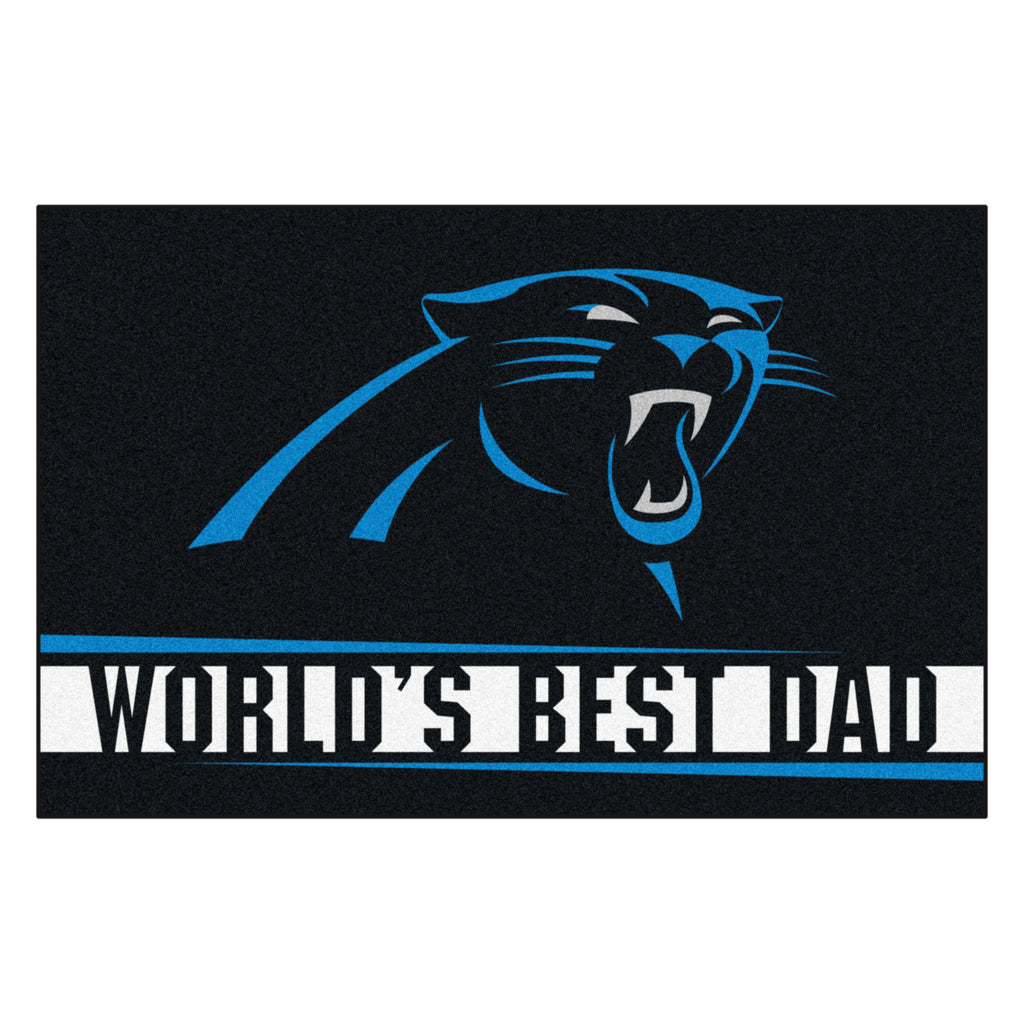 NFL - Carolina Panthers Starter Mat - World's Best Dad