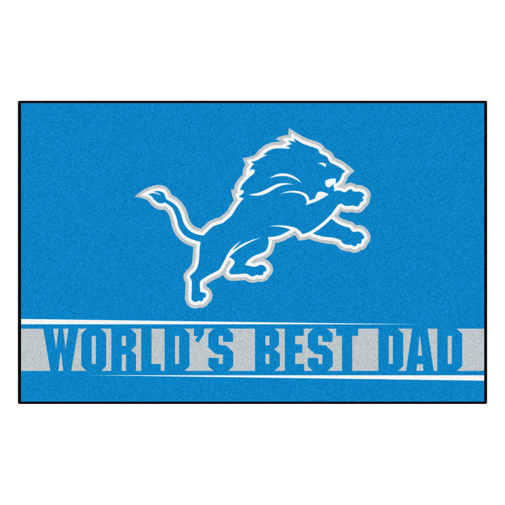 NFL - Detroit Lions Starter Mat - World's Best Dad
