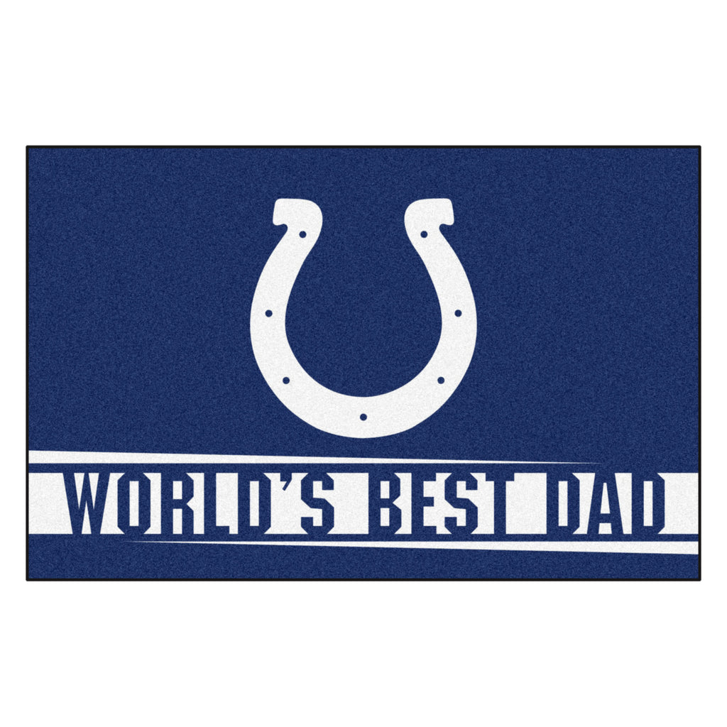 NFL - Indianapolis Colts Starter Mat - World's Best Dad