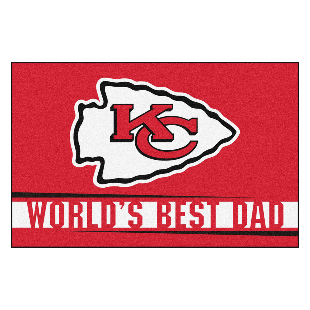 NFL - Kansas City Chiefs Starter Mat - World's Best Dad