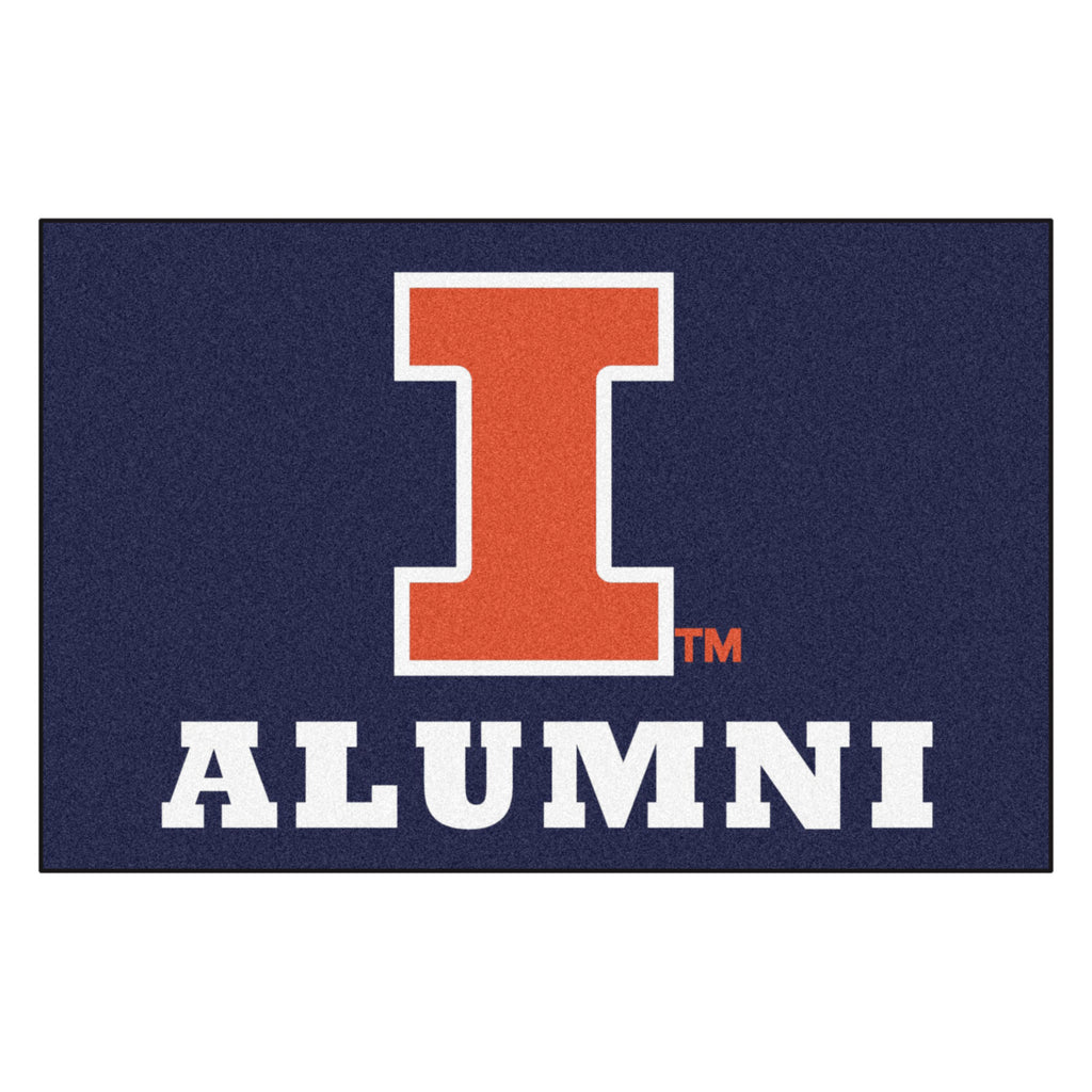University of Illinois Starter Mat - Alumni