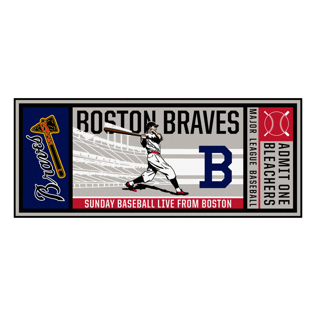 MLBCC - Atlanta Braves  Ticket Runner