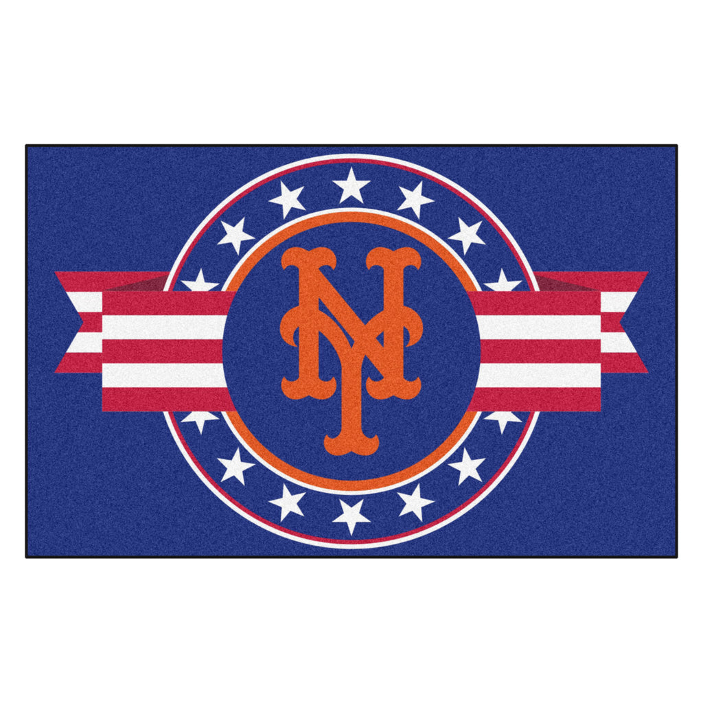 MLB - New York Mets Starter Mat - MLB Patriotic