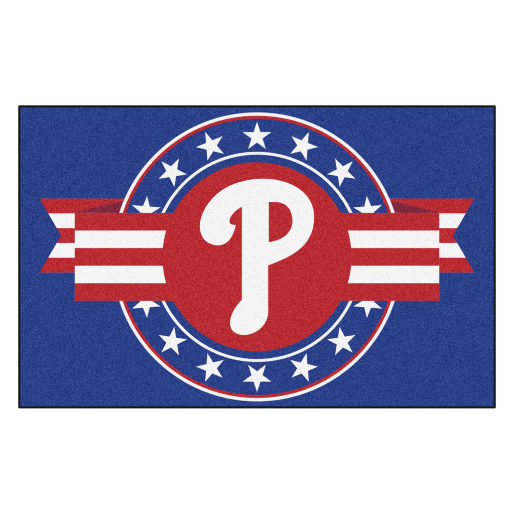 MLB - Philadelphia Phillies Starter Mat - MLB Patriotic