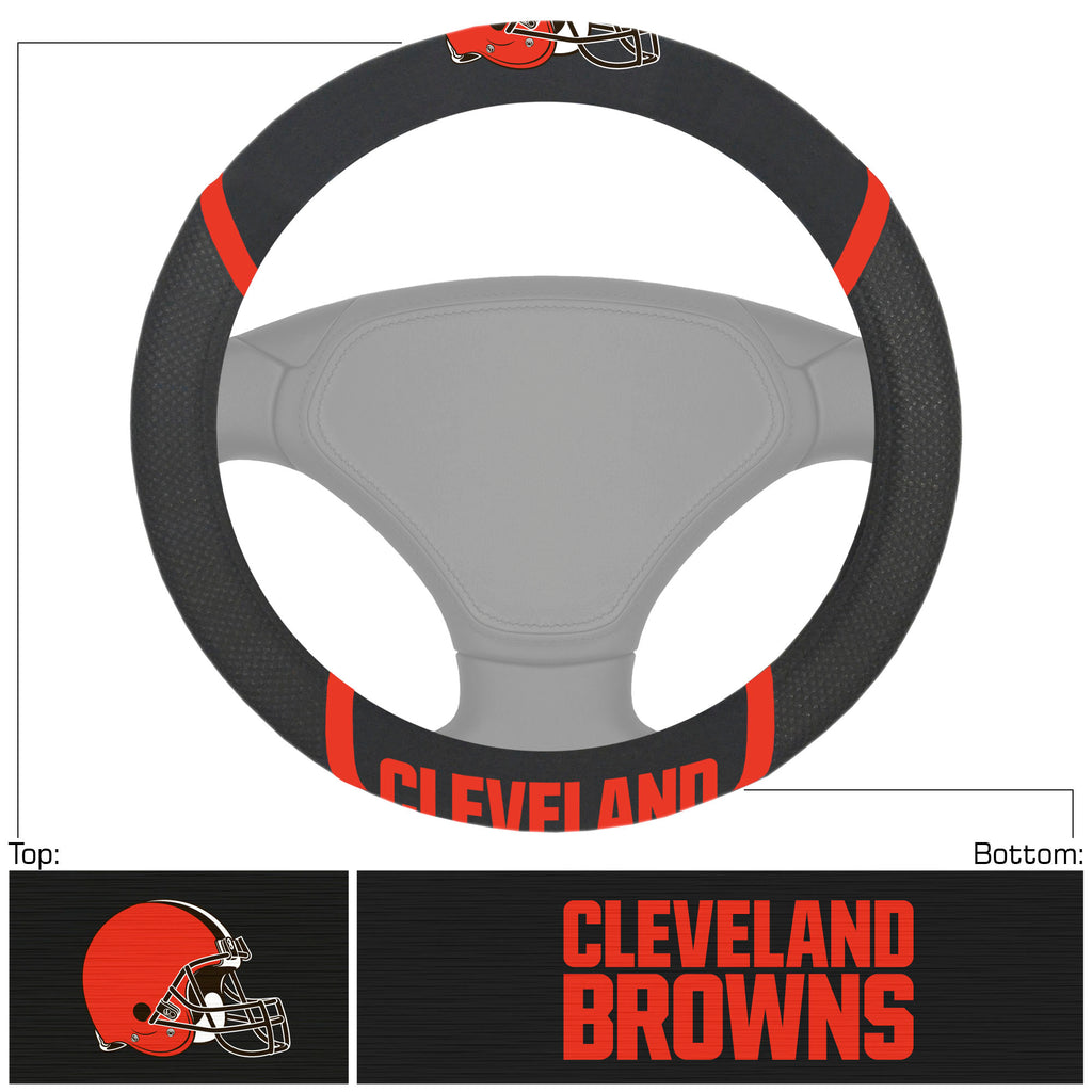 NFL - Cleveland Browns  Steering Wheel Cover