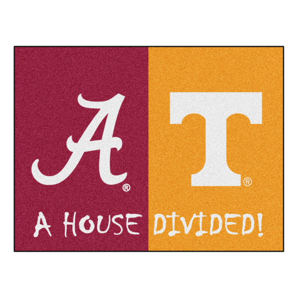 House Divided - Alabama / Tennessee House Divided Mat