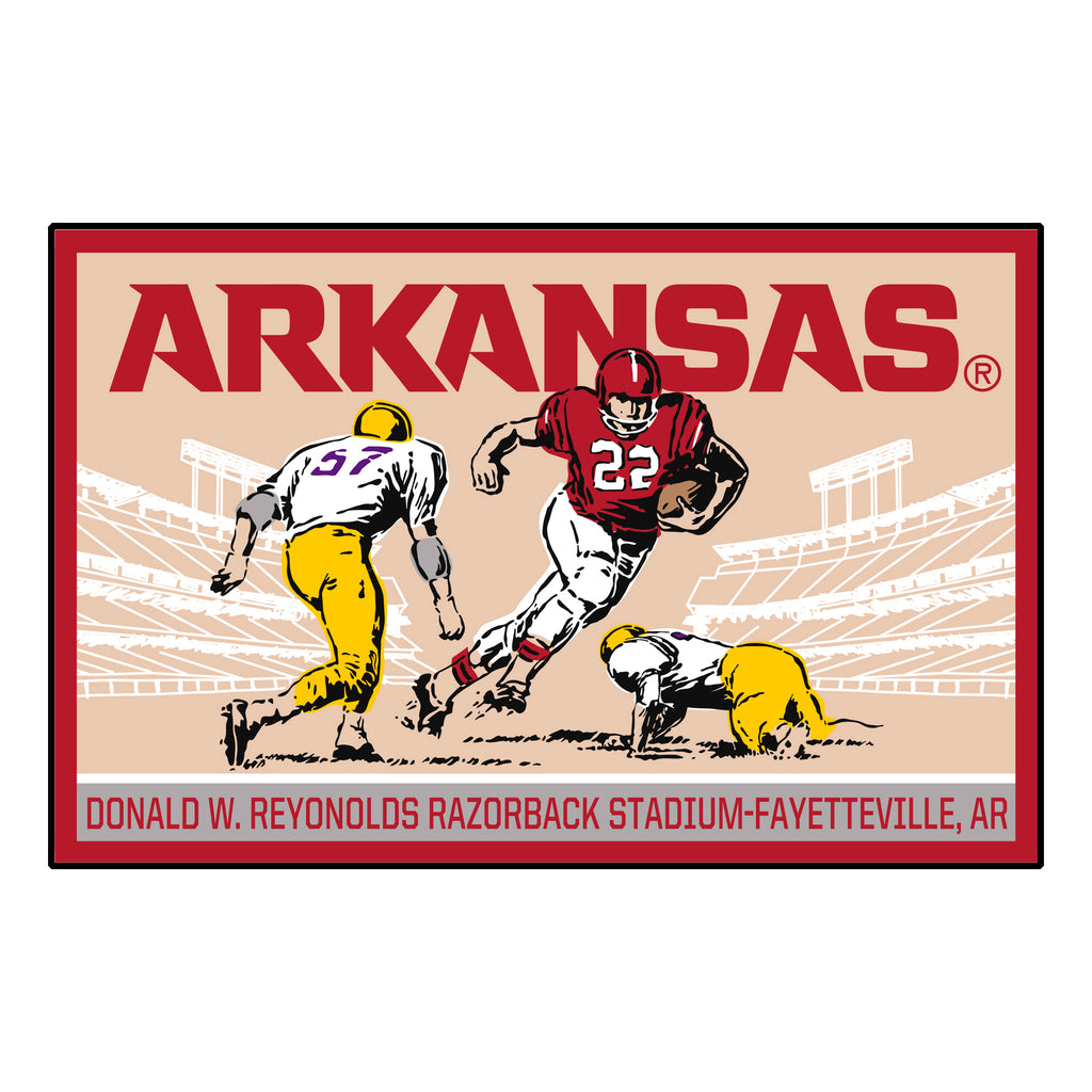 University of Arkansas Starter Mat - Ticket