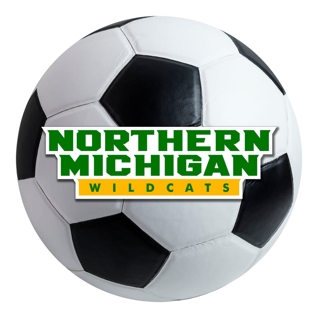 Northern Michigan University Soccer Ball Mat