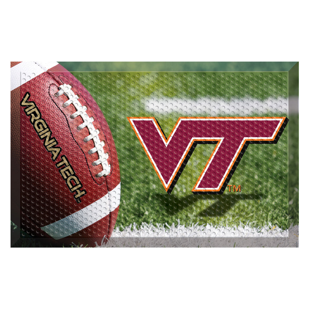 Virginia Tech Scraper Mat