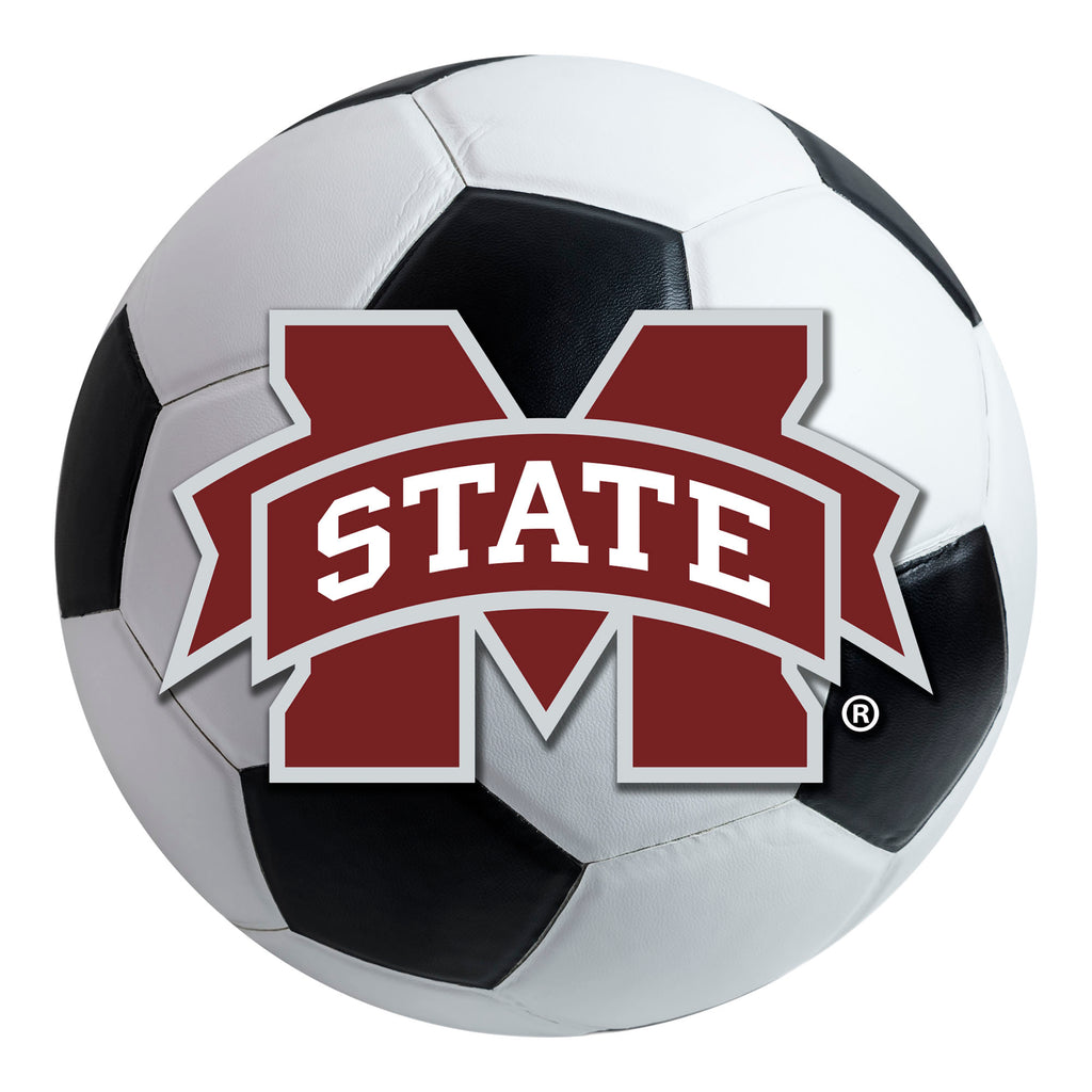 Mississippi State University Soccer Ball Mat