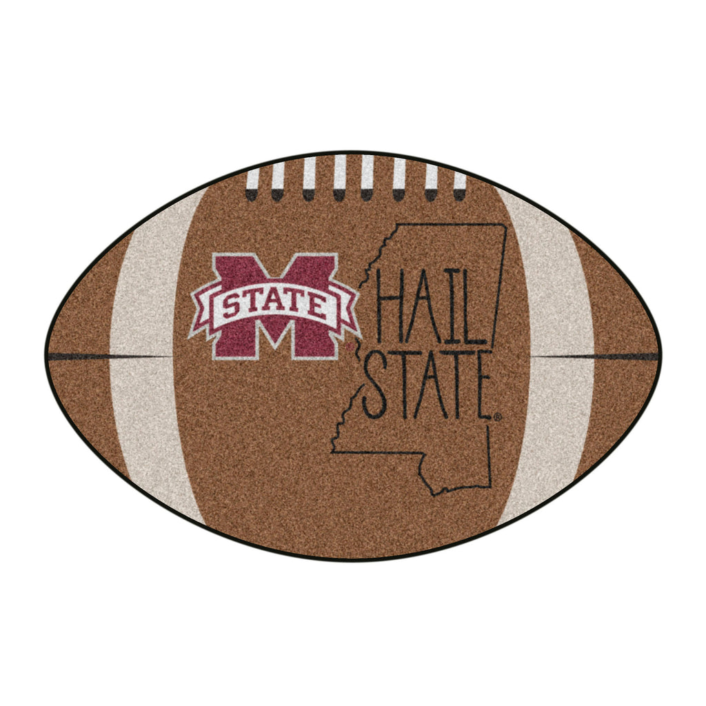 Mississippi State University Southern Style Football Mat