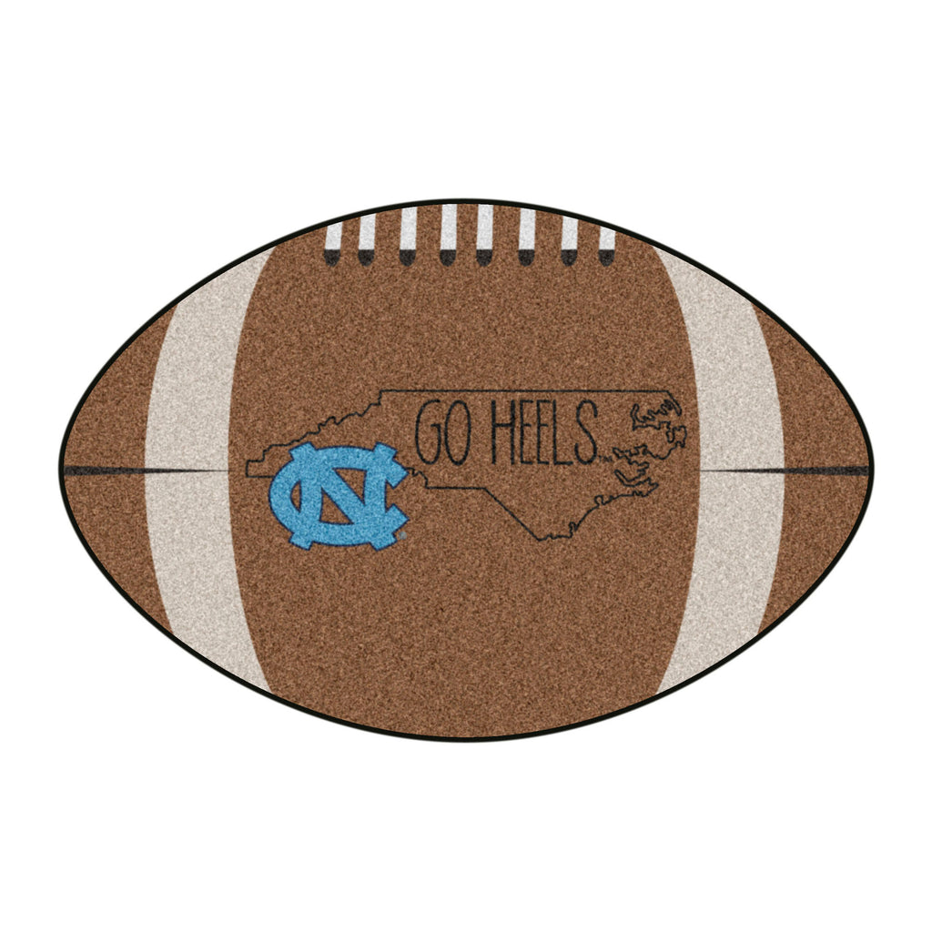 University of North Carolina - Chapel Hill Southern Style Football Mat