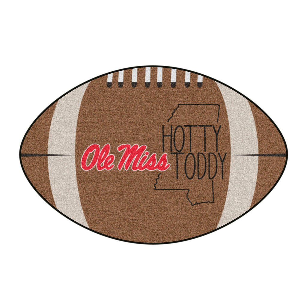 University of Mississippi (Ole Miss) Southern Style Football Mat