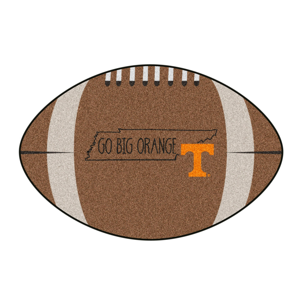University of Tennessee Southern Style Football Mat