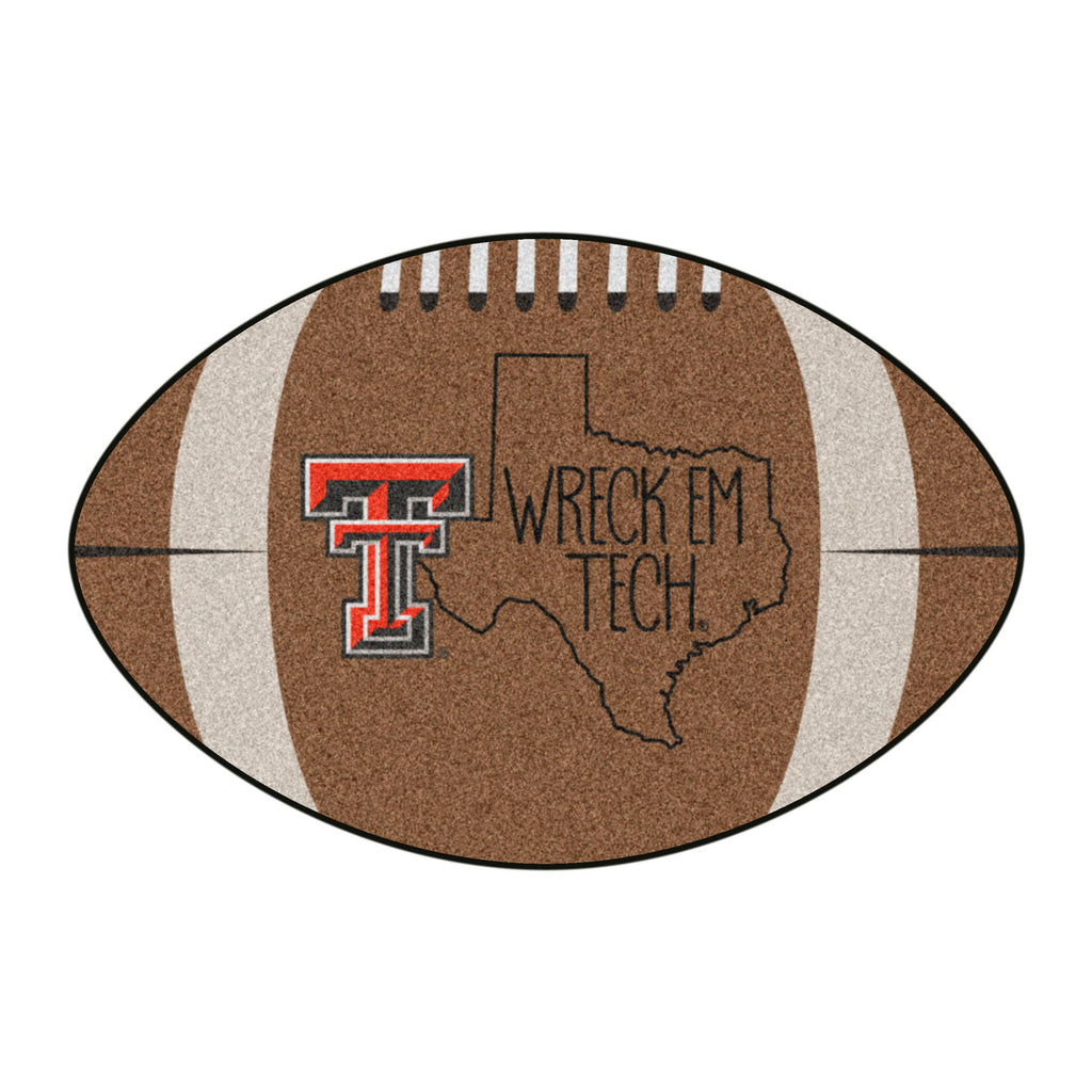 Texas Tech University Southern Style Football Mat