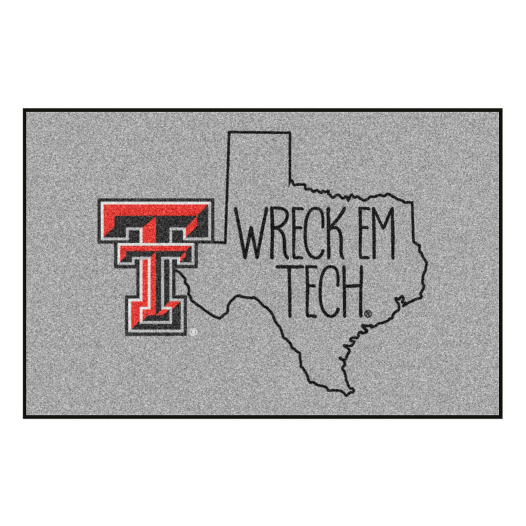 Texas Tech University Southern Style Starter Mat