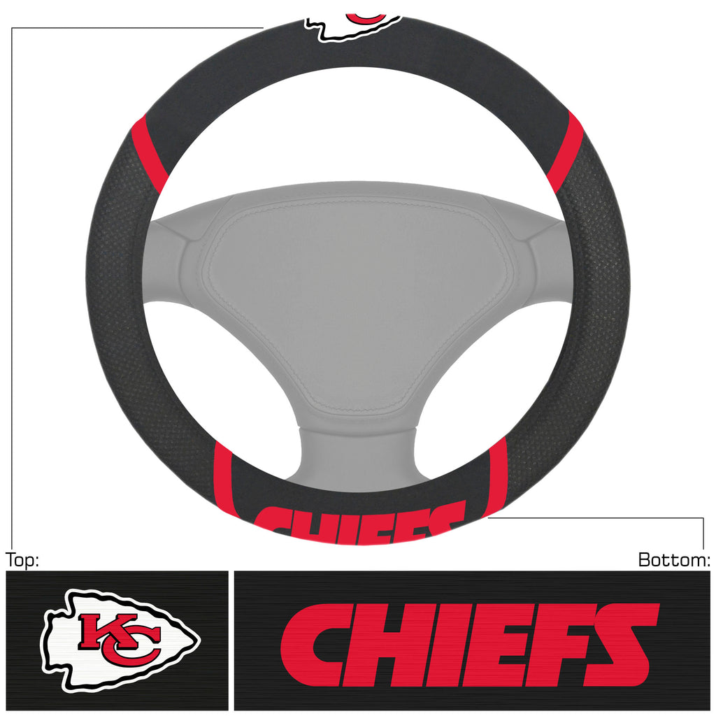 NFL - Kansas City Chiefs  Steering Wheel Cover