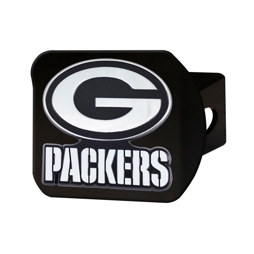 NFL - Green Bay Packers  Hitch Cover - Black