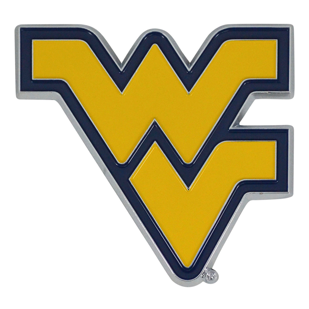 West Virginia University Color Emblem