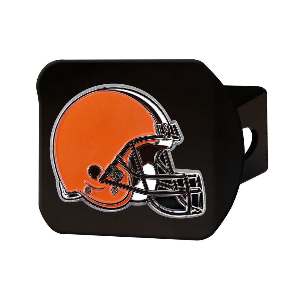 NFL - Cleveland Browns  Color Hitch Cover - Black