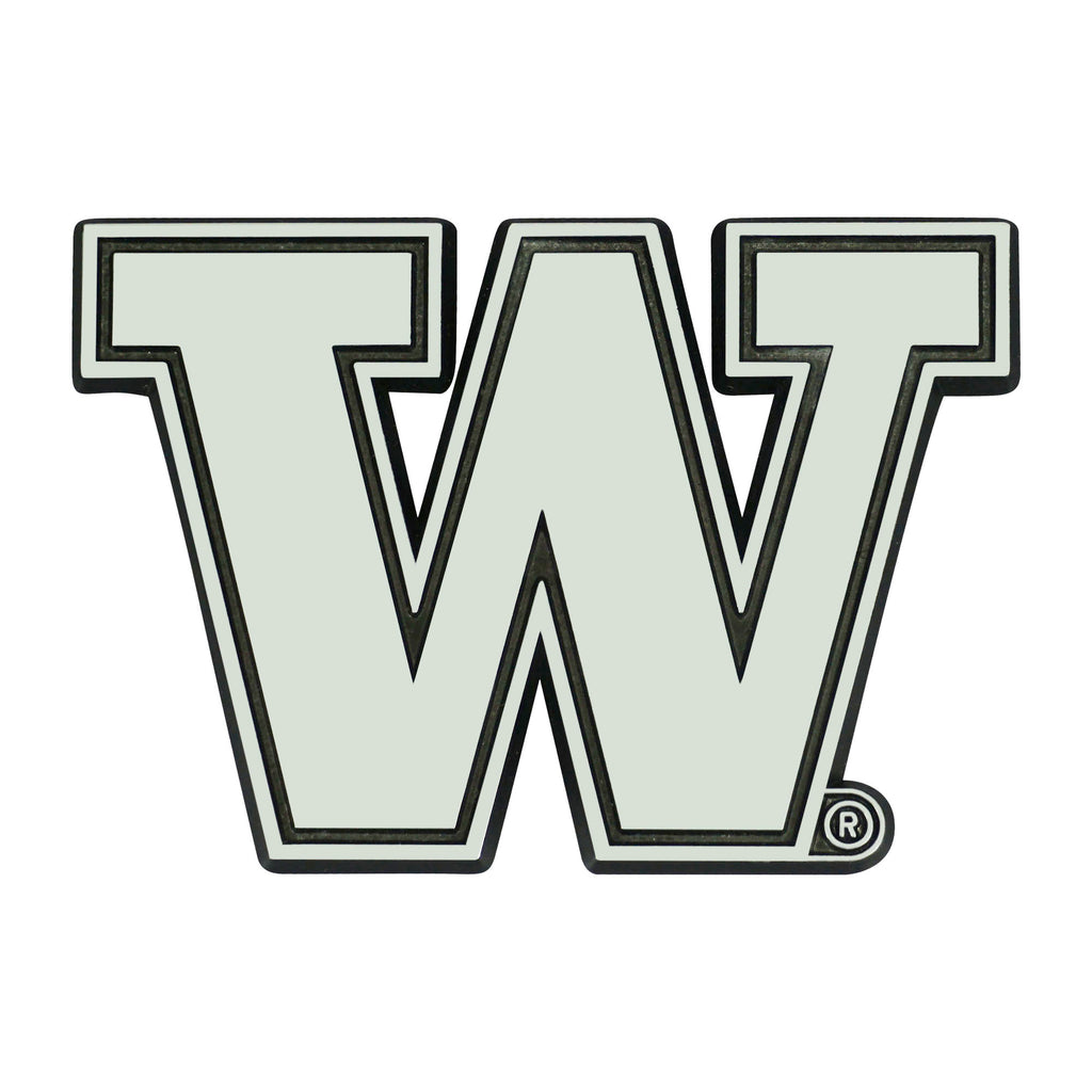 University of Washington Chrome Emblem