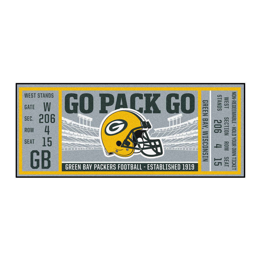 NFL - Green Bay Packers Ticket Runner