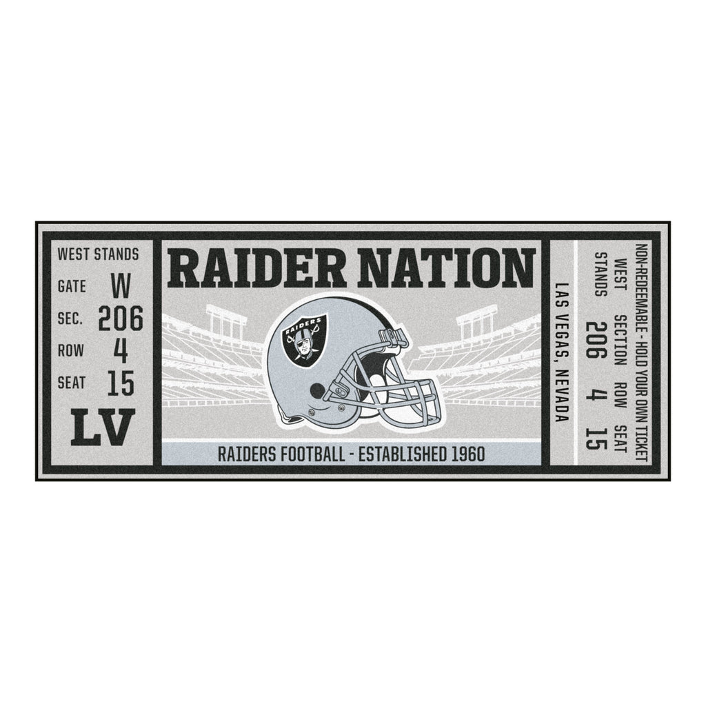 NFL - Las Vegas Raiders Ticket Runner