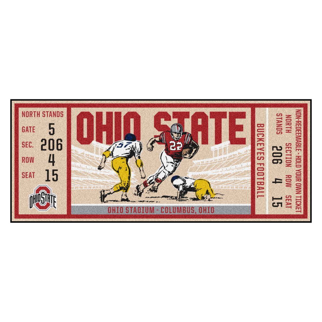 Ohio State University Ticket Runner