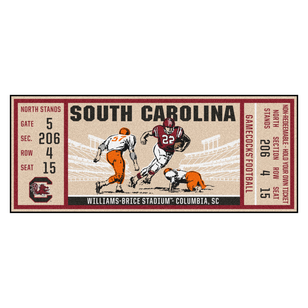 University of South Carolina Ticket Runner