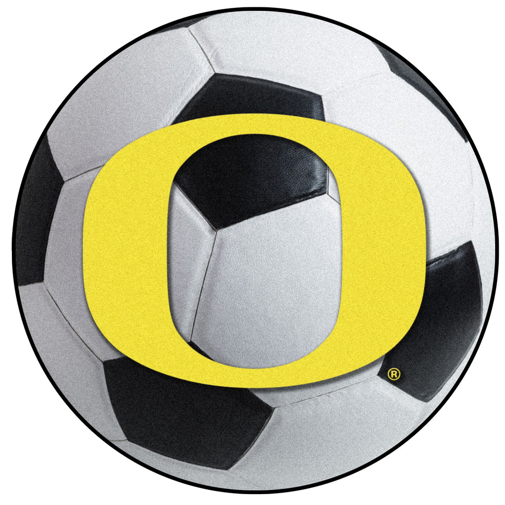 University of Oregon Soccer Ball Mat