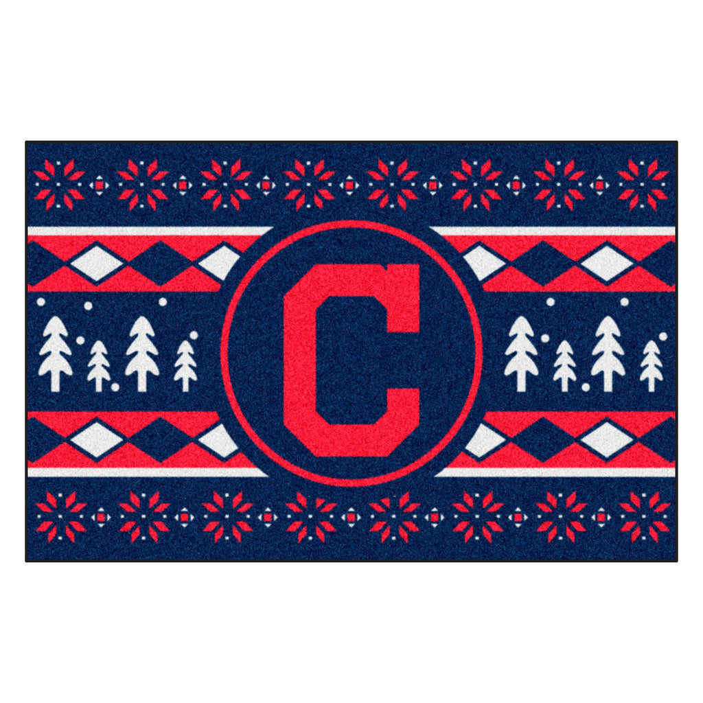 MLB - Cleveland Indians Holiday Sweater Starter Mat