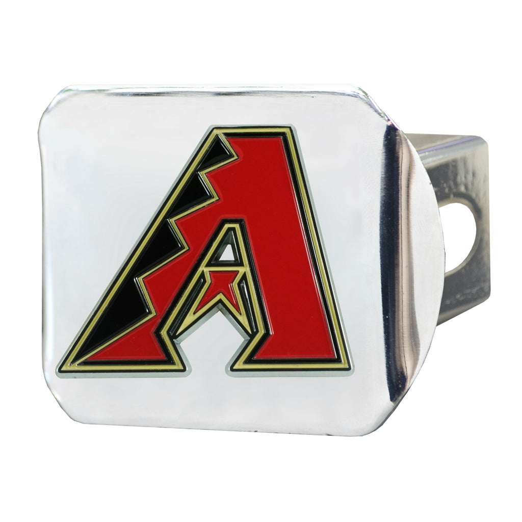 MLB - Arizona Diamondbacks Color Hitch Cover - Chrome