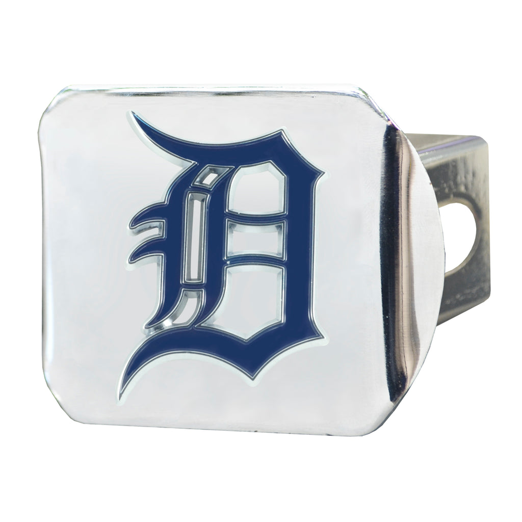 MLB - Detroit Tigers Color Hitch Cover - Chrome