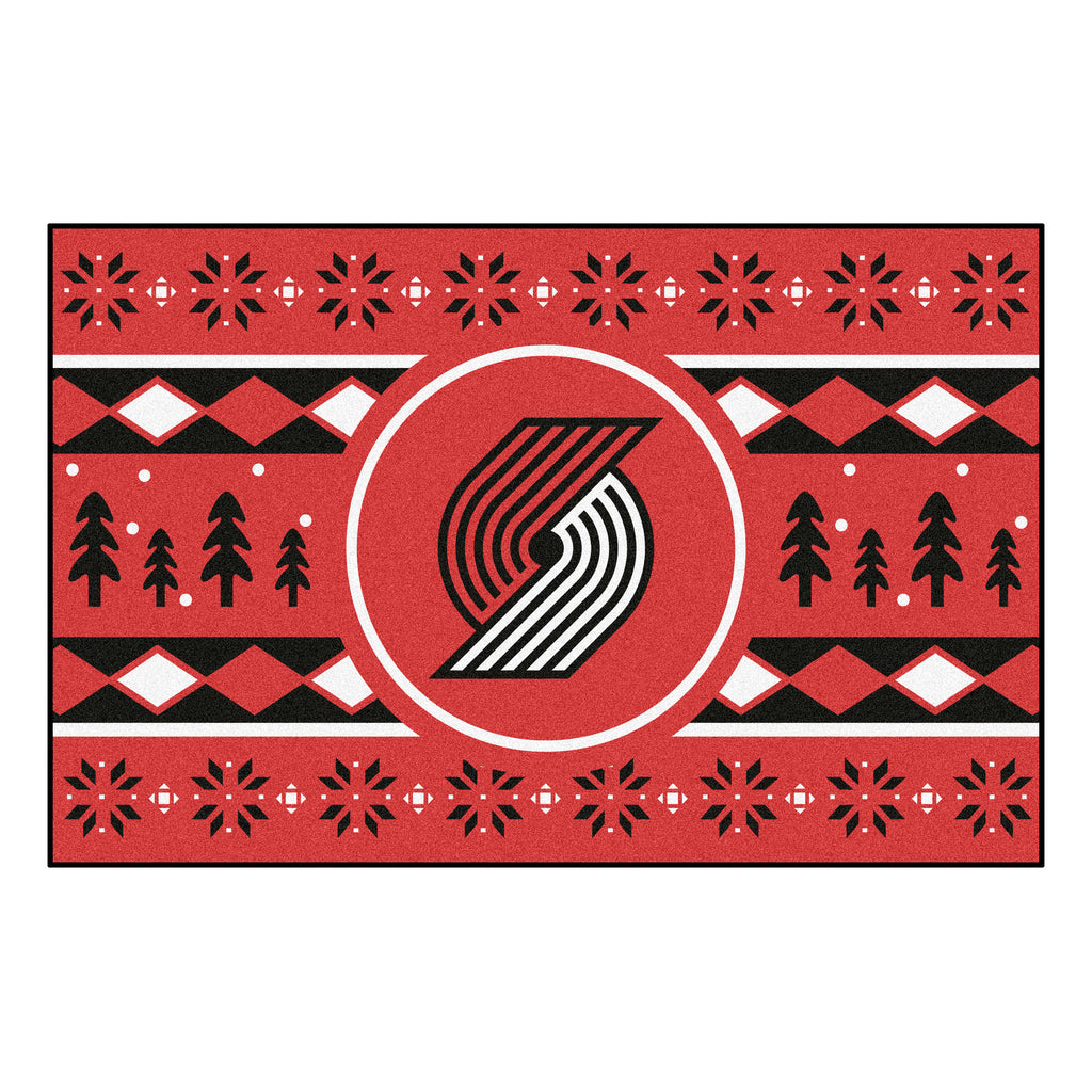 NBA - Portland Trail Blazers Holiday Sweater Starter Mat