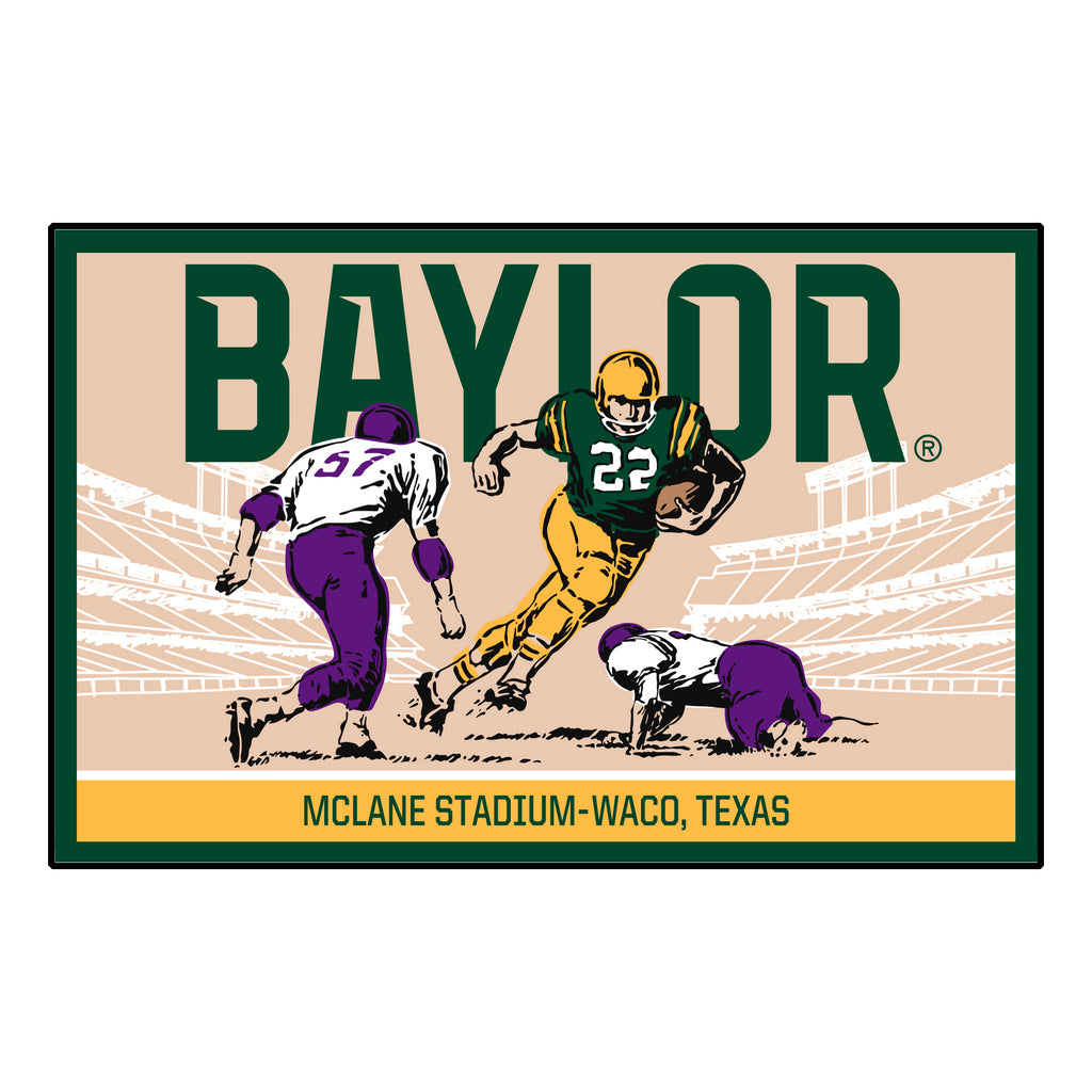 Baylor University Starter Mat - Ticket