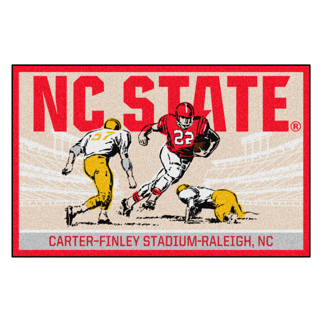 North Carolina State University Starter Mat - Ticket