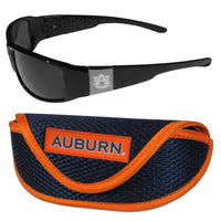 Auburn Tigers Chrome Wrap Sunglasses and Sports Case
