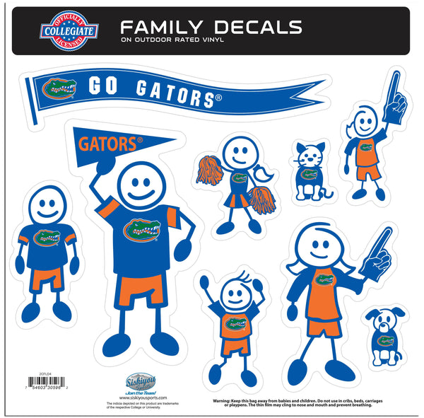 Florida Gators Family Decal Set Large