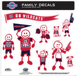 Arizona Wildcats Family Decal Set Large
